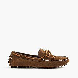 Sperry® for J.Crew suede driving moccasins