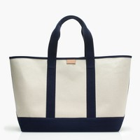 Surfside canvas weekender bag