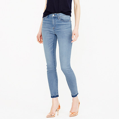 Lookout high-rise crop jean in Boater wash