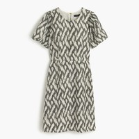 Flutter-sleeve dress in ikat