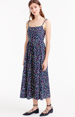 Sundress in Ratti® Happy Cat print