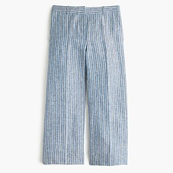 Gazebo pant in market stripe