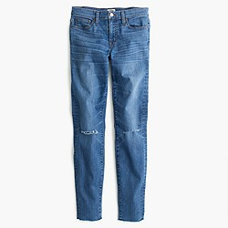 Petite toothpick jean in Skipper wash