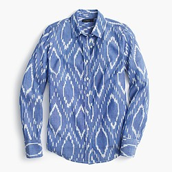 Perfect shirt in sunfaded ikat
