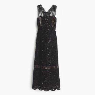Collection dress in Austrian eyelet