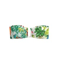 U-front bandeau bikini top in Ratti® Into the Wild print