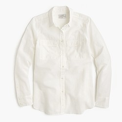 Boy shirt in cotton-linen