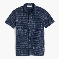 Industry of All Nations™ short-sleeve batik shirt in dot
