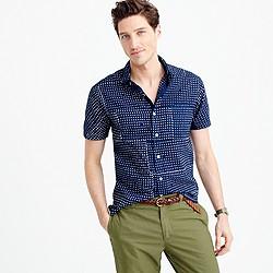 Industry of All Nations™ short-sleeve batik shirt in dot