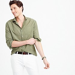 Industry of All Nations™ madras shirt in green