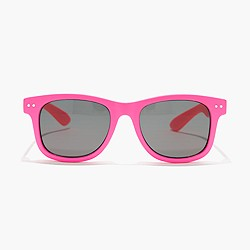 Kids' neon sunnies