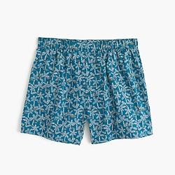 Beach tree print boxers