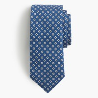 Drake's® silk tie in geometric print