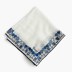 Pre-order Drake's® cotton-silk pocket square in balloon print