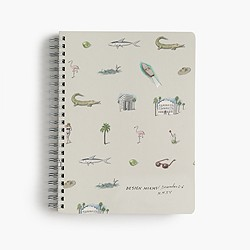 J.Crew X Pierre Le-Tan™ for Design Miami/™ notebook