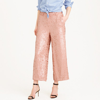 Collection sequined gazebo pant