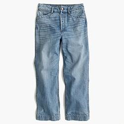 Point Sur workwear crop jean
