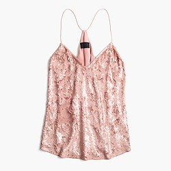 Collection Carrie cami in sequins
