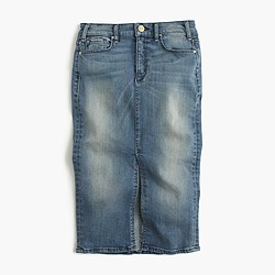McGuire™ Marino denim skirt in royalist wash