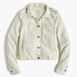 McGuire™ Agnelli denim jacket in vanilla