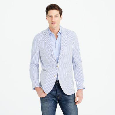 Thomas Mason® for J.Crew Ludlow blazer in stripe