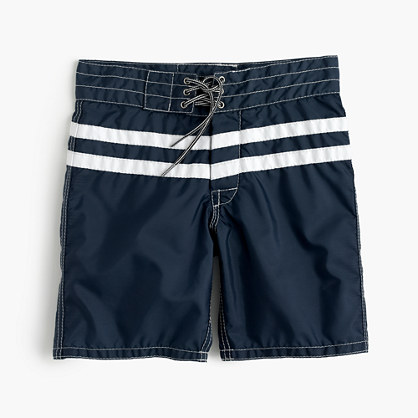 Boys' Birdwell® for crewcuts two-stripe board short