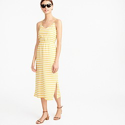 Petite Carrie dress in stripe