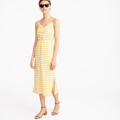 Carrie dress in stripe