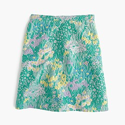 Collection A-line skirt in Impressionistic jacquard