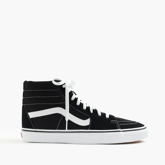 Vans® Sk8-Hi sneakers in black