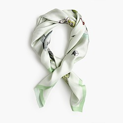 J.Crew X Pierre Le-Tan™ for Design Miami/™ square scarf