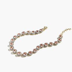 Glitter br�lée necklace