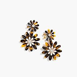 Daisy tortoise earrings
