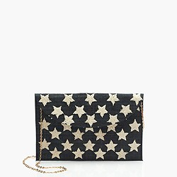 Kayu™ hand-embroidered envelope clutch