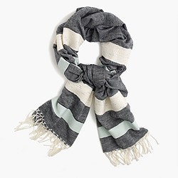 Block-striped scarf