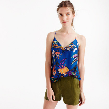 Tall Carrie cami in tropical floral print