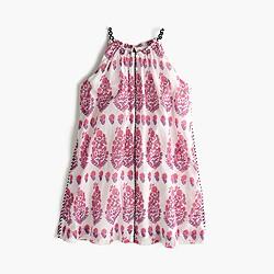 Girls' paisley summer dress