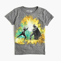 Kids' Star Wars™ for crewcuts glow-in-the-dark Skywalker vs. Vader T-shirt