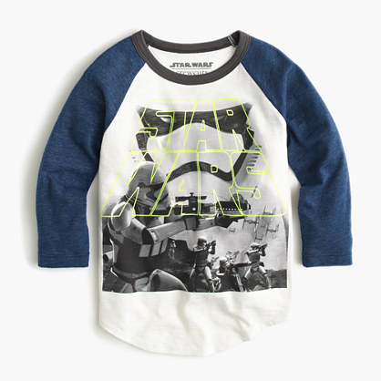Kids' Star Wars™ for crewcuts glow-in-the-dark Stormtrooper T-shirt