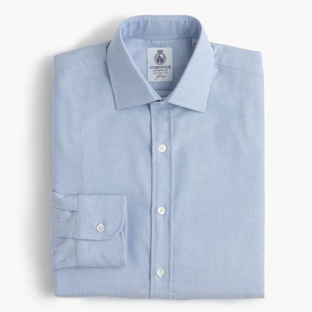 Cordings™ for J.Crew oxford shirt in blue