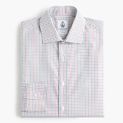Cordings™ for J.Crew shirt in tattersall