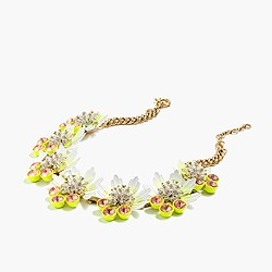 Petal br�lée necklace