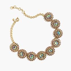 Crystal motif necklace