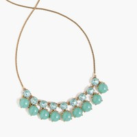 Tonal crystal necklace