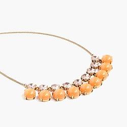 Tonal crystal necklace