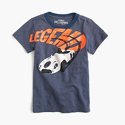 "Boys' ""legend"" race car T-shirt"