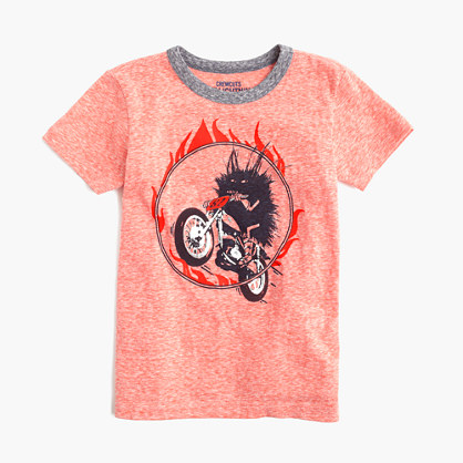 Boys' Max the Monster stunt T-shirt in supersoft jersey