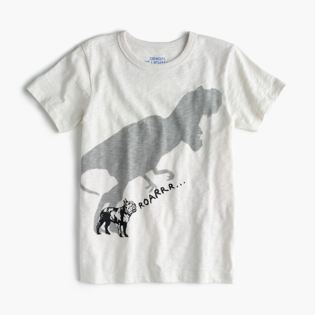 Boys' dino shadow T-shirt
