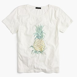 Botanical pineapple T-shirt