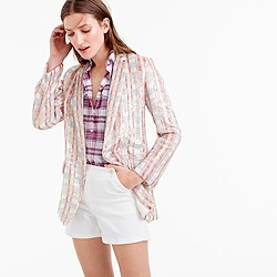 Collection patterned sequin blazer